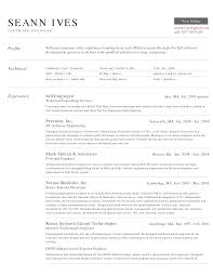 Best Resume Format For Experienced Engineers by Resume Format Experienced Software Engineer Free Resume Example