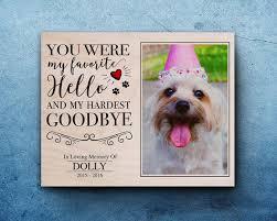 pet memorial gifts pet sympathy gift sympathy frame pet personalized pet