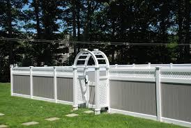 white garden fence paint ideas margarite gardens