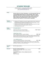 Sample Resume Online by Astonishing Sample Resume For Recent College Graduate With No