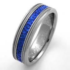 blue titanium wedding band nikolai 1 titanium ring with niobium titanium wedding rings
