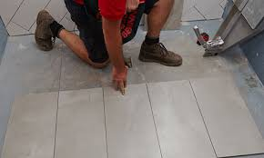 How To Lay Tile In A Bathroom Floor How To Lay Floor Tiles Bunnings Warehouse