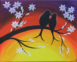 spring painting ideas the images collection of we host acrylic easy spring paintings