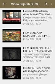 film pki asli video sejarah g30s pki apps on google play