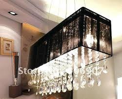 Broadway Linear Crystal Chandelier Rectangle Led Crystal Chandelier Modern Dining Room Lamp Fashion