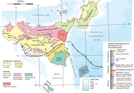 Sicily Italy Map Stratigraphic Variations Control Deformation Patterns In Evaporite