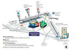 Frontier Flight Map Parking Information Metropolitan Washington Airports Authority
