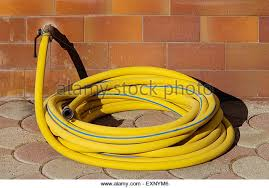 Garden Hose Extension Faucet Yellow Garden Hose Stock Photos U0026 Yellow Garden Hose Stock Images