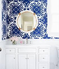 wallpapered bathrooms ideas charming ideas bold wallpaper small bathroom 30 gorgeous