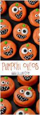 pumpkin oreos recipe oreos halloween ideas and halloween foods