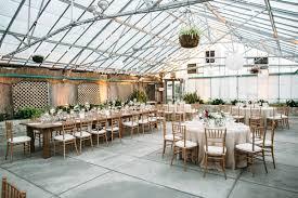 sweet indoor garden wedding at horticulture center ruffled