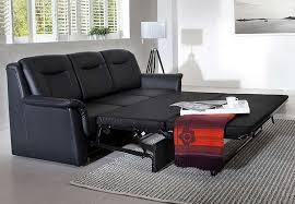 sofa 3 sitzer leder 3 sitzer sofa mit bettfunktion multifunktionale möbel wohnzimmer