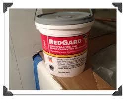Ideas For Bathroom Waterproofing Use Redgard To Waterproof Cement Board In Bathtub Or Showers