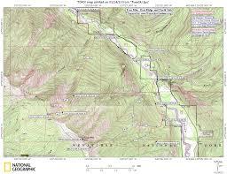 Chelan Washington Map by Wenatcheeoutdoors Guide Books