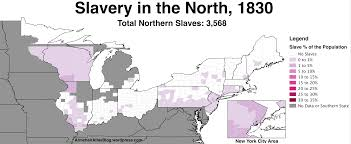 United States Map 1860 by Slavery In The Northern United States 1790 To 1860 Armchair Atlas