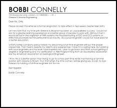 going back to resignation letter livecareer