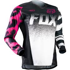 fox youth motocross gear all new fox racing 2015 girls youth 180 jersey black pink wide