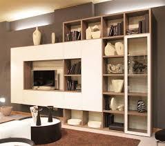 libreria tv libreria con vetrina idées de design d intérieur