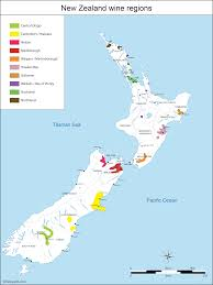 Italy Wine Regions Map by New Zealand Map Of Vineyards Wine Regions
