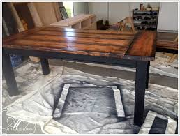 Diy Farmhouse Table And Bench Diy Wood Table Top Easy Diy Planked Table Top Cover For Your