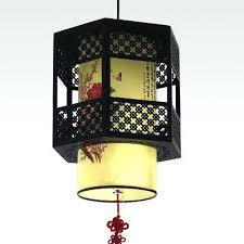 Lantern Pendant Light Fixture Chinese Lantern Pendant Lights Hanging Modern Light Basswood Lamps