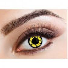 halloween scary lens cosplay white coloured contacts lens color