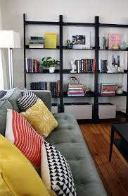 Ikea Lerberg Shelf Get The Look Leaning Ladder Shelves Apartment Therapy