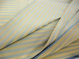 Regency Stripe Upholstery Fabric Mid Century Fabric Hollywood Regency Metallic Fabric 1950s Fabric