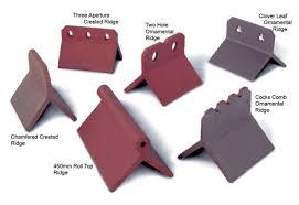 dreadnought tiles range of ornamental ridges