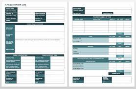 Free Change Order Template Excel Change Log Template Repair Order Template Excel Automobile Repair