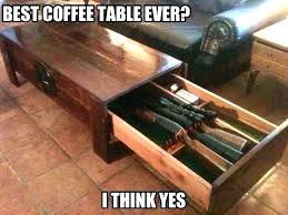 coffee table with hidden gun storage plans coffee table with hidden gun storage 9 unusual hidden gun safes to