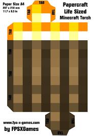 minecraft papercraft template calendar picture templates