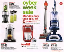 target black friday vacuum cleaner cyber monday 2015 target ad scan buyvia