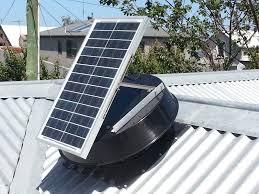 solar attic vent fan solar roof ventilators exhaust fans roof ventilation ges