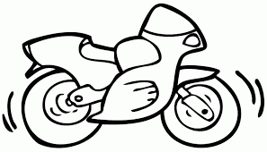 free motorcycle coloring pages coloring