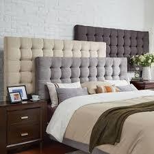 elegant tufted king size headboard great king size upholstered