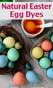 homemade easter egg dye decorating eggs natural dyes
