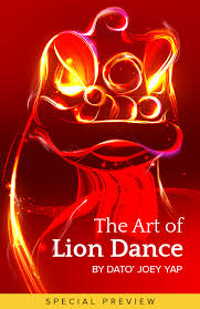 lion dancer book the of lion