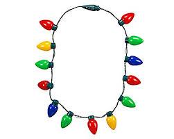light necklace images Led light up flashing bulb christmas holiday necklace jpg