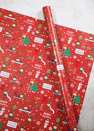 cheap christmas wrapping paper wide christmas wrapping paper 6m matalan