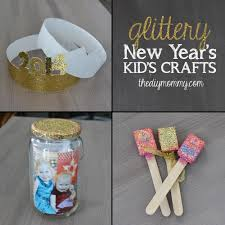 new year u0027s crafts for kids party hats time capsule u0026 noise