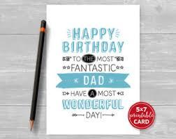happy birthday printable card for dad happy birthday card