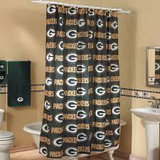 Curtain Catalogs Green Bay Packers Printed Shower Curtain Bath Home U0026 Office