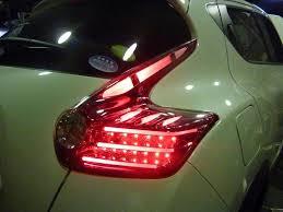 juke aftermarket tail lights nissan juke with mbro tail lights installed nissan juke