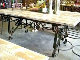 vintage glass top dining table top dining table with wrought iron base dining room vintage glass