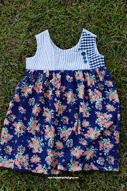 free girls dress pattern the august dress pattern sizes 2 9