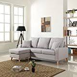 Light Grey Sofas by Amazon Com Grey Sofas U0026 Couches Living Room Furniture Home