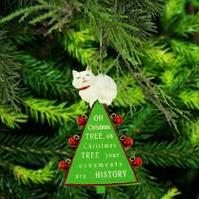 oh tree cat ornament the animal rescue site