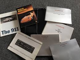 fs 993 owners manual with embossed case rennlist porsche