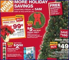 home depot black friday adds the home depot black friday poinsettias 99 cents u0026 fraser fir 5